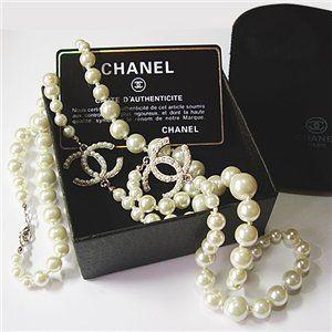 Бижутерия от Шанель