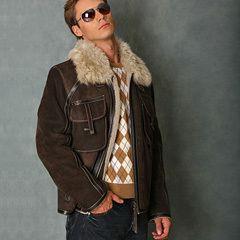 Сшитые кожаные куртки