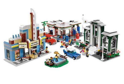 Первые конструкторы LEGO