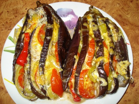 запеченные целиком баклажаны в духовке рецепт с фото