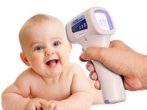 инфракрасный градусник для новорожденного